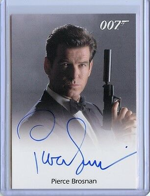 2016 James Bond Classics 007 PIERCE BROSNAN Full Bleed Autograph