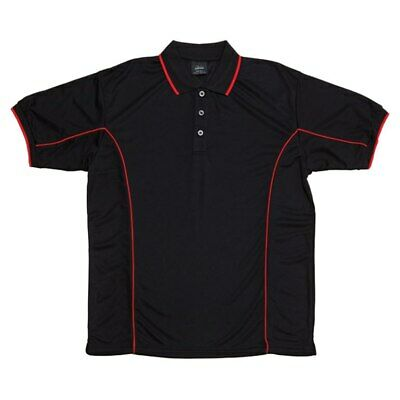 ADDISON | Mens Contrast Piping Polo Quick Dry