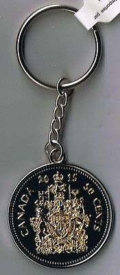 Canada - Key Chain - Key Ring - Mimic's 50¢ Half Dollar Coin  - New  Canadian