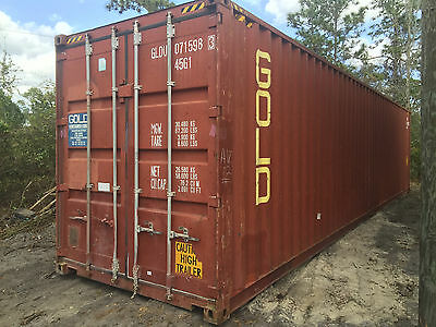 40' x 8' x 9.5' Shipping Container - High Cube - Cargo Worthy Grade B1