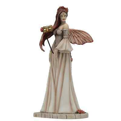 Vintage Rose Fairy Figurine Jessica Galbreth Masquerade LAST ONE NO BOX