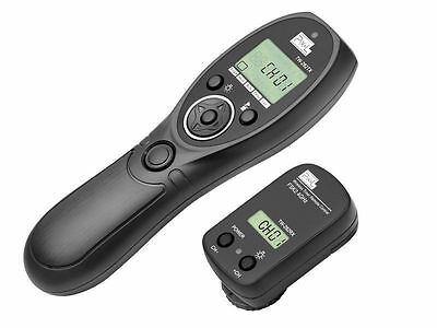 Pixel TW-282 Wireless Timer Remote Control For Canon with E3 Cable