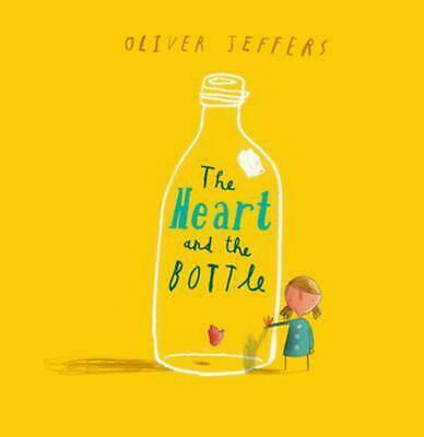 Heart and the Bottle by Oliver Jeffers (English) Hardcover Book Free Shipping!