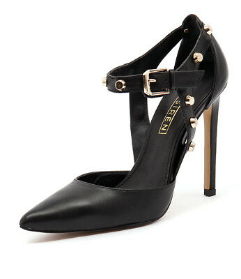 New Siren Andrea Si Black Womens Shoes Dress Shoes Heeled