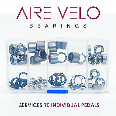 Replacement Speedplay Pedal Bearings Box Set 10 Pedals