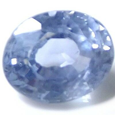 NATURAL BLUE SAPPHIRE LOOSE GEMSTONE (6.1 x 4.9 mm) OVAL-FACETED