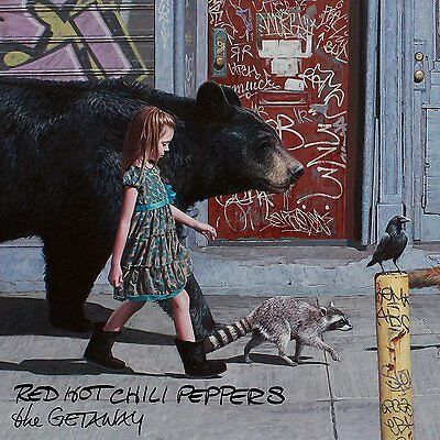Red Hot Chili Peppers The Getaway Cd 2016