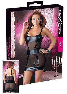 Mini abito Cottelli Collection Sexy Dresses Powernet Party Black