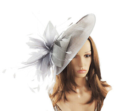 Red Fascinator Hat for weddings//ascot M2