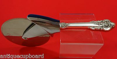 Grande Baroque by Wallace Sterling Silver Pizza Cutter HHWS  Custom Made 9 1/4""
