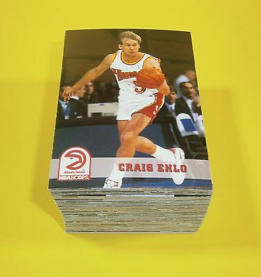1993/94 NBA basketball Hoops series 2 complete common set 121 cards - mint