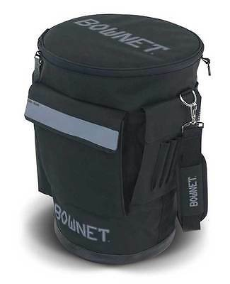 BowNet 6 Gallon Bucket Bag Baseball Equipment Bag, Black. BN-Bucket Bag B