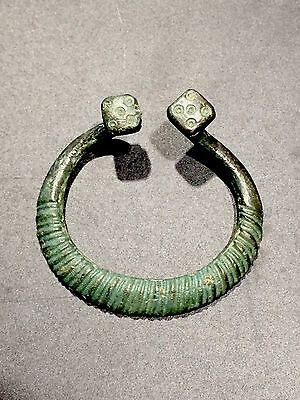 Ancient Viking Brooch Bronze
