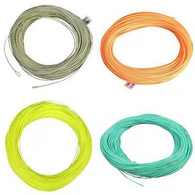 100FT Weight Forward Floating Fly Fishing Line Tackle Accessory WF 3/4/5/6/7/8F