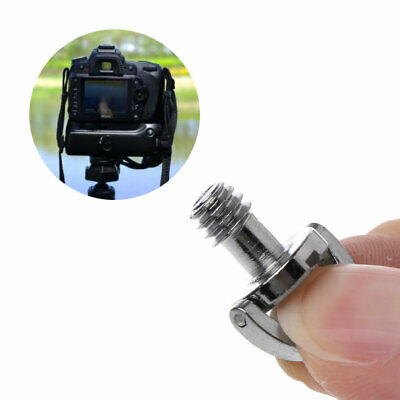 """C-Ring Camera Screw 1/4"""" fr Tripod Rapid Quick Release Plate Mount Baseplate New"""
