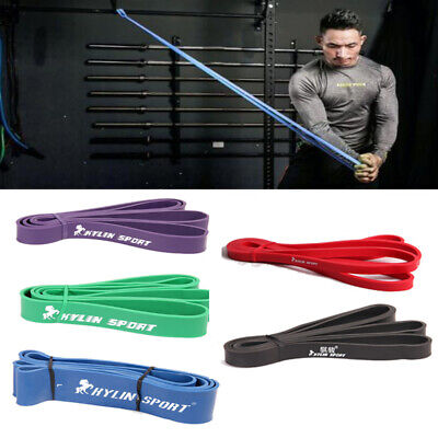 Resistance Bands Set Kit Fitness Exercise Loop Yoga Pilates Tube Workout Stretch