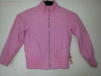 Stunning Girls Pink Lightweight Jacket By H&m - 6-7 Years - Free Post
