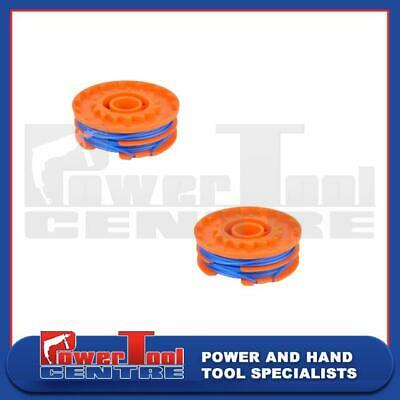 2x Spool & Line Qualcast GT25 GGT350A1 350w (245416) GGT3503 (610629) Strimmer