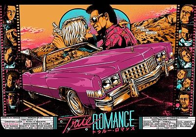 TRUE ROMANCE Movie PHOTO Print POSTER Patricia Arquette Christian Slater 001
