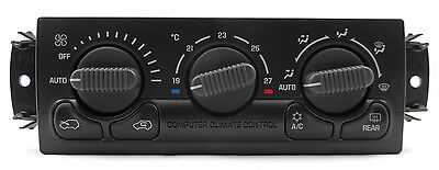 New Celsius Heater & A/C Temp Control Switch w/ Auto & Defog ACDelco 15-72980