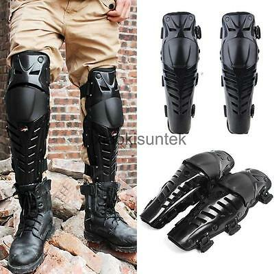 Hinged Knee Shin Pad Guard Armour Support Motorcycle Racing Tactical Skate