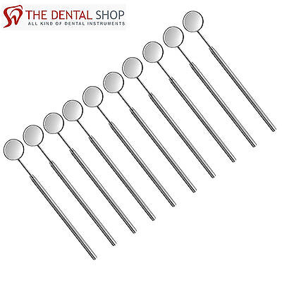 New Oral Care Dental Instruments, Mouth Teeth Mirror with Handle, NEW Mirror # 5