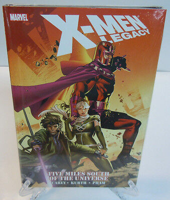 X-Men Legacy Five Miles South of the Universe Marvel HC Hard Cover New Sealed