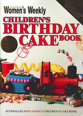 The Australian Women's Weekly Children's Birthday Cake Book - Vintage Edition by