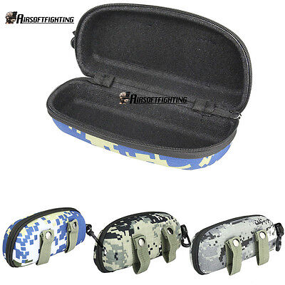 Tactical MOLLE Outdoor Shockproof Glasses Box Nylon Waterproof Glasses Bag Case