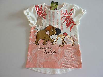 DISNEY Really Cute JUNGLE BOOK Junior and Mowgli T-Shirt NWT