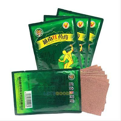 40 Patches Vietnam Red Tiger Balm Muscular Stiff Shoulder Pain Relief Plaster #L