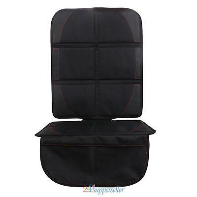 Universal Car Booster Seat Protector Nonslip Cover Mat Baby Child Safety Black