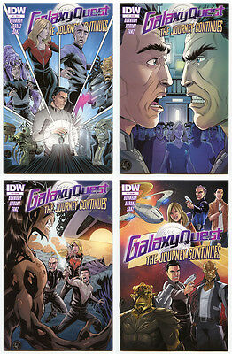 Galaxy Quest: The Journey Continues #1-4 (IDW, VF/NM)