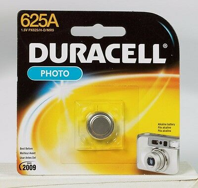 "New! ""DURACELL"" PX625A Camera 1.5 V Alkaline Battery (EPX625, RPX675, H-C)"
