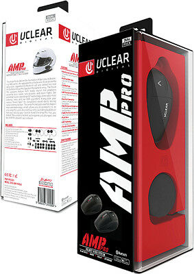 UClear AMP PRO Bluetooth Headset SINGLE Motorcycle Helmet Intercom