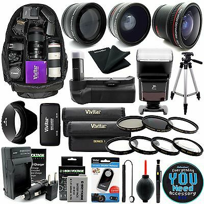 Everything You Need Accessory Kit for Canon T2i T3i T4i T5i DSLR Camera