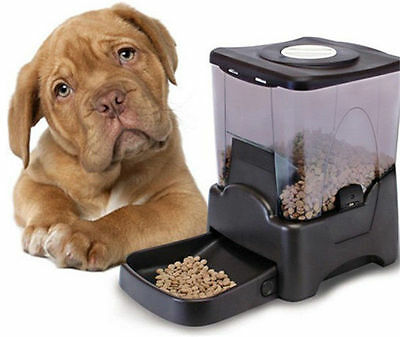 Automatic Pet Feeder 10L Dispenser Bowl, 99 Day Capacity cats dogs rabbit