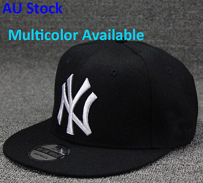New York NY Yankees Baseball Unisex Hip-Hop Flat Hat Snapback Cap Men Cotton