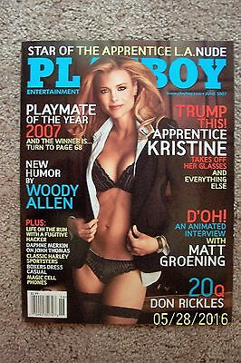 Playboy Magazine - June 2007