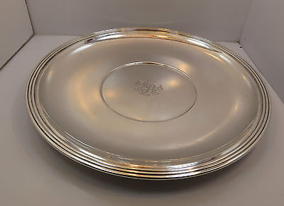 """Tiffany & Co. 10"""" round Sterling Plate or Platter -"""