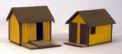 B & S Co. S Scale Rio Grande Outhouse $ Section Car Shed Ohpir S-101 Only $19.99