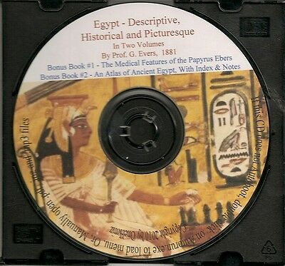 Egypt - Historical, Descriptive and Picturesque by G. Ebers + Bonus Books