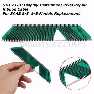SID2 LCD Display Instrument Pixel Repair Ribbon Cable For SAAB 9-3 & 9-5 Replace