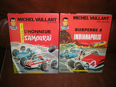 Michel Vaillant - Lot 2 Tomes N°10 Et 11 - Editions Anciennes