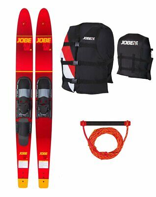 JOBE ALLEGRE COMBO ski nautique ski Paquet Set 170cm rouge