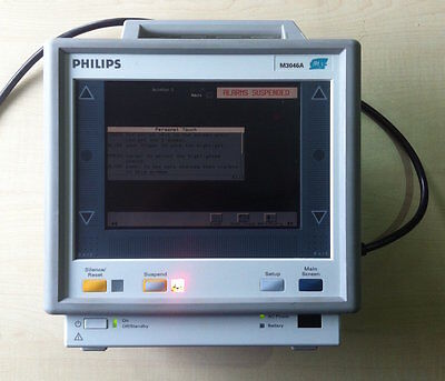 Überwachungsmonitor Compact Portable Patient Monitor Philips Agilent M3046A M3