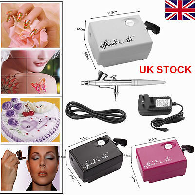 New SP16 Beauty Special Air Brush Compressor Spray Gun Make Up AirBrush Set Suit