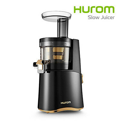 New Genuine HUROM ALPHA H-AA-LBF17 Slow Cold Press Juicer Squeez Extractor Black