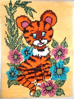 Baby Tiger Latch Hook Rug