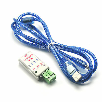 USB to CAN USB-CAN Bus Converter Adapter + USB Cable